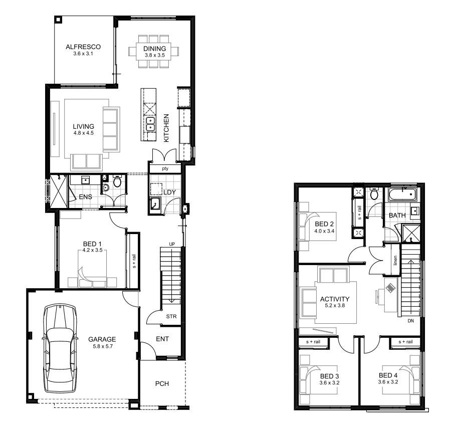 Double Storey Homes Perth Lifestyle Range apg Homes House