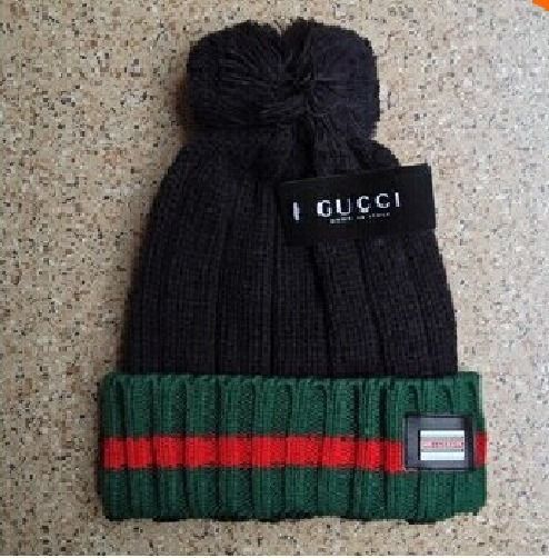 2015 GUCCI Black Casual Beanie Hat Cap for Men Women USA Seller FREE  Shipping 0f733f5c8e9