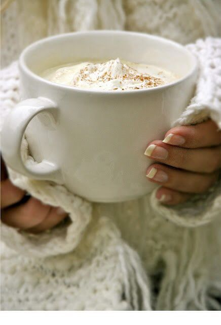 Am Enjoying A Hot Cup Or A Gallon Of Latte Lol Of Hot Chocolate