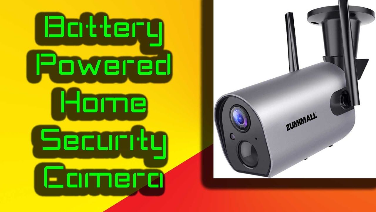 Rechargeable Battery Powered Home Security Camera Security Cameras For Home Home Security Wireless Home Security Systems