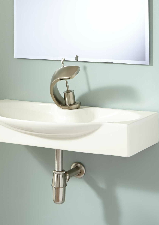 Ronan Wall Mount Bathroom Sink Bathroom Wall Mounted Bathroom Sinks Bathroom Sink Design Modern Bathroom Sink [ 1500 x 1062 Pixel ]