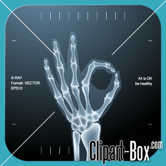 Clipart Ok X Ray Hand Royalty Free Vector Design X Ray Clip Art Wellness Institute