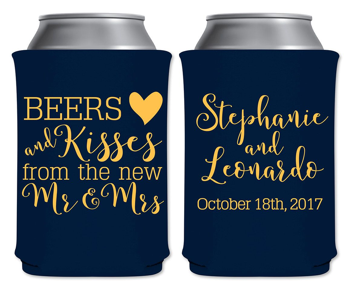 8 fun and creative ideas for incorporating beer into your wedding. Reception beer taps, beer-themed groomsmen gifts, groom's cakes inspiration and more!