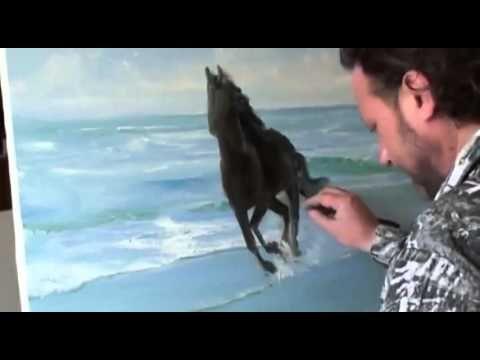 "LIBERO! Full video ""cavallo"" dal artista Igor Sakharov"