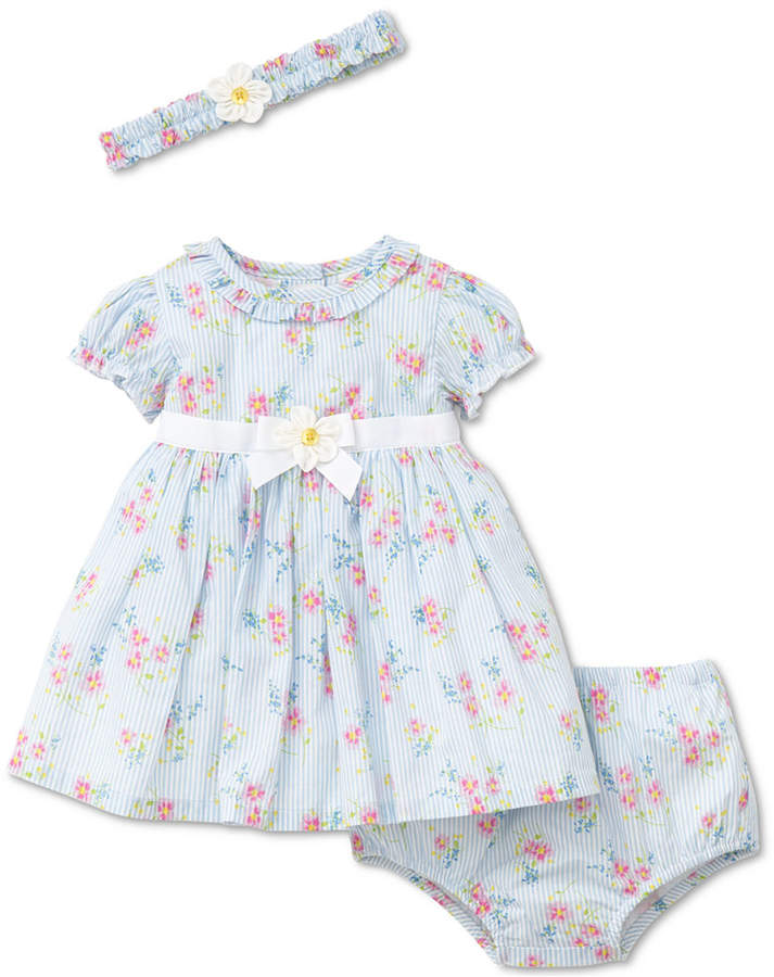 b099ed83d840 Little Me 2-Pc. Floral-Print Dress   Diaper Cover Set