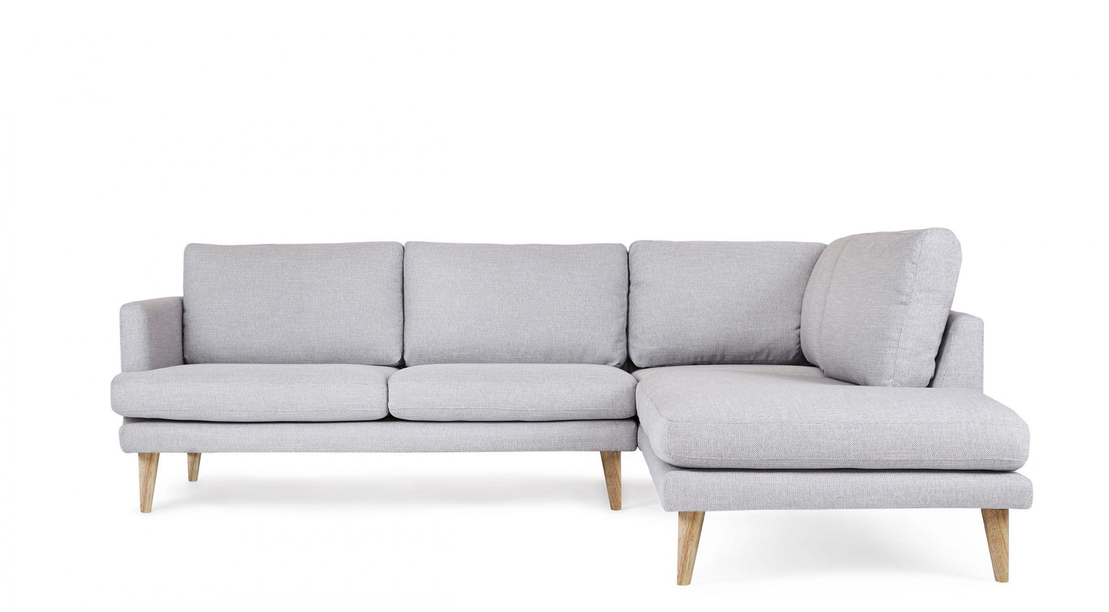 Hugo Corner Sofa 5 Seater Sofa Scandinavian Design Wooden Legs Light Grey Fa93wo6t Scandinavian Sofas Sofa Sofa Images