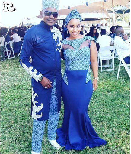 The Best Couples Shweshwe Dresses For 2018