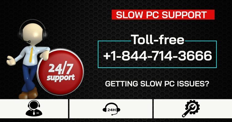 Slow PC support Number +18447143666 USA by Alexpaine
