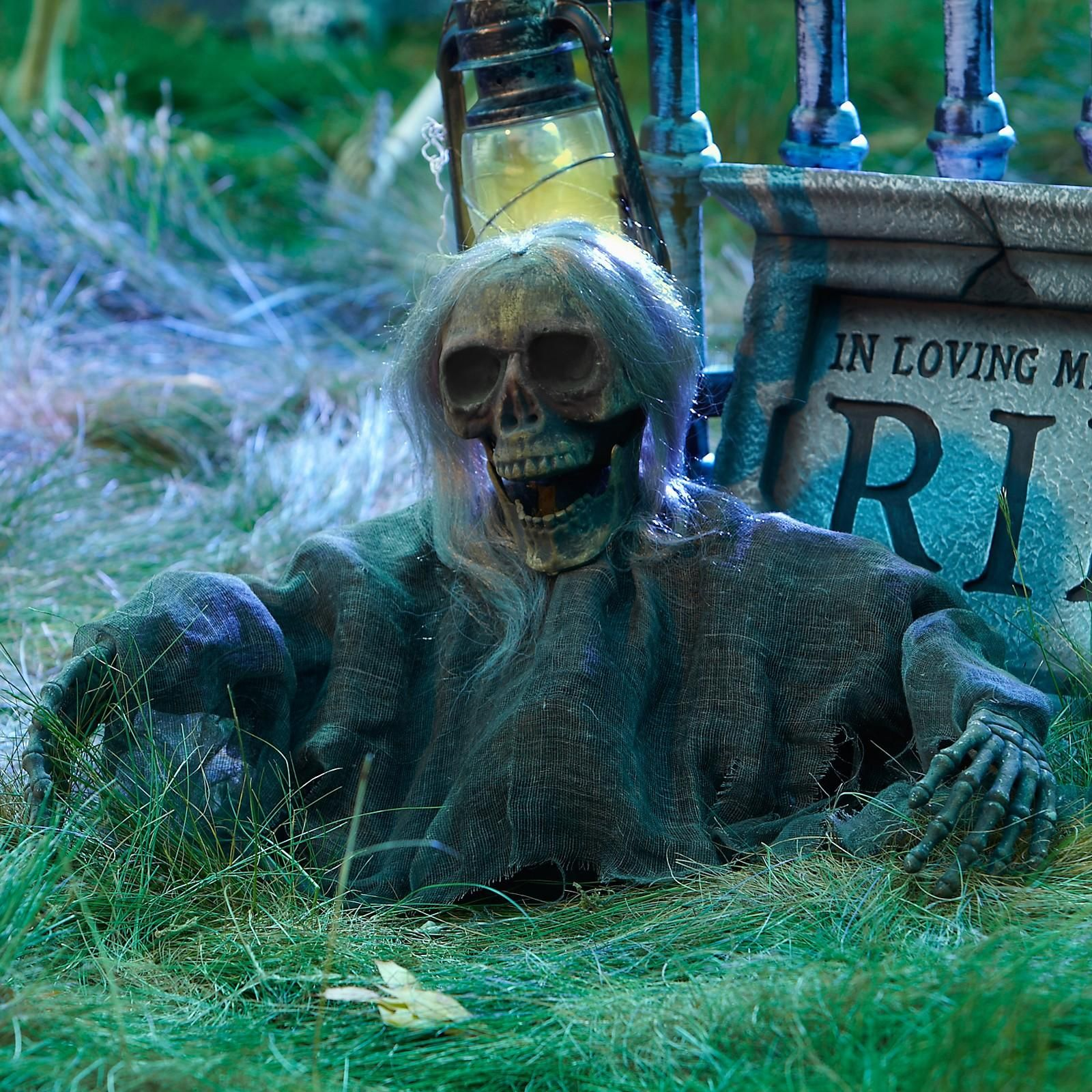 Halloween Decorations : IDEAS & INSPIRATIONS Grave Ground