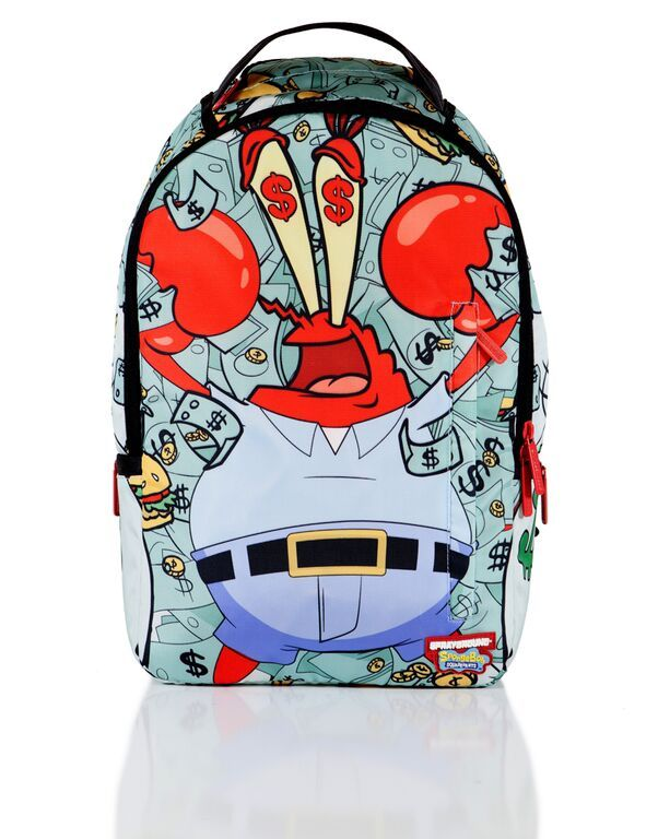 614d4f09 Sprayground x Spongebob Money Krabs Backpack http://www.sprayground.com/