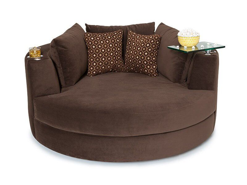 Seatcraft Swivel Cuddle Couch 7 Materials 95 Colors Cuddle