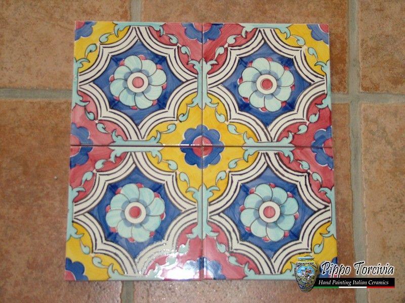 Risultati immagini per pavimenti ceramiche siciliane tile
