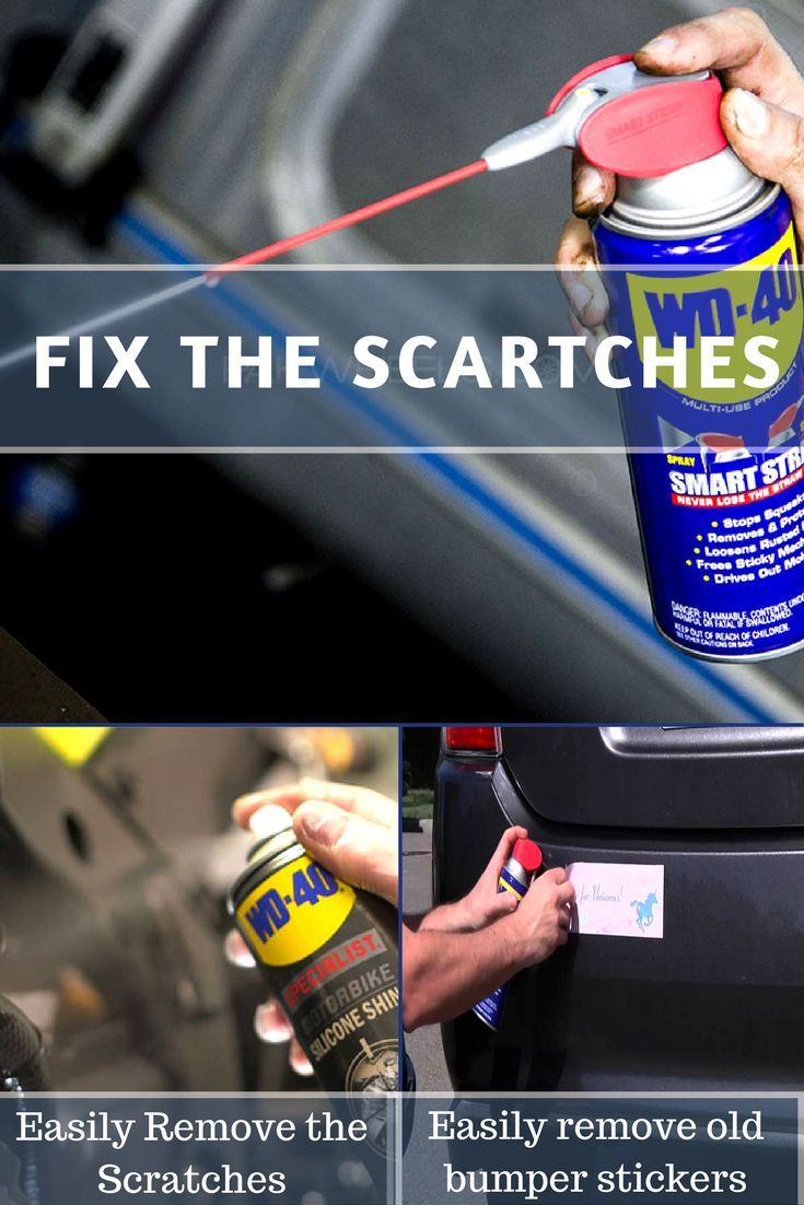 Simply spray WD40 on the sticker, allow time to soak and then gently pull it off for removing old bumper stickers.