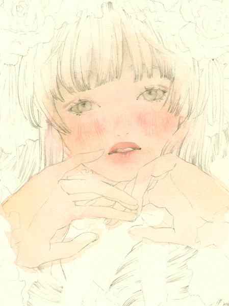 色使いやぼかし方を覚えよう 透明水彩で描く肌の塗り方 In 2019