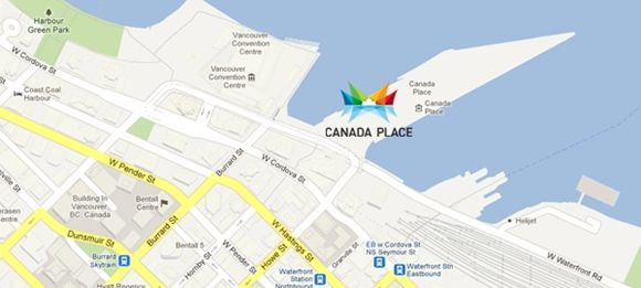 Vancouver Canada-Place Cruise Ship Terminal Map Canada Place (cruise port) | Cruise port, Canada, Places