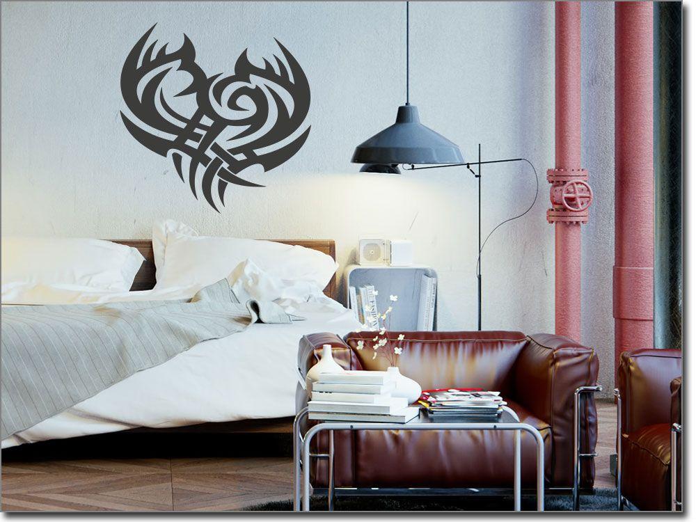 Wandtattoo Tribal Herz Wandtattoo Motive Pinterest - wandtattoos für schlafzimmer