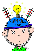 "Have students create their own ""thinking cap""!!!!"