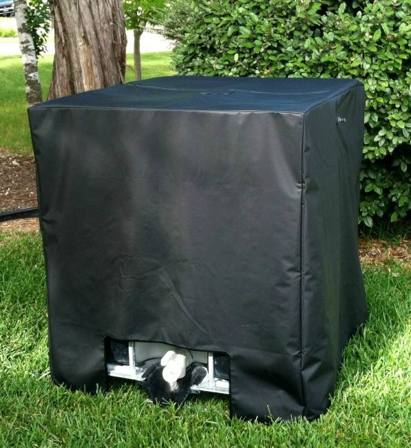 No More Algae In Your IBC Tote with UV Protective Cover Kit
