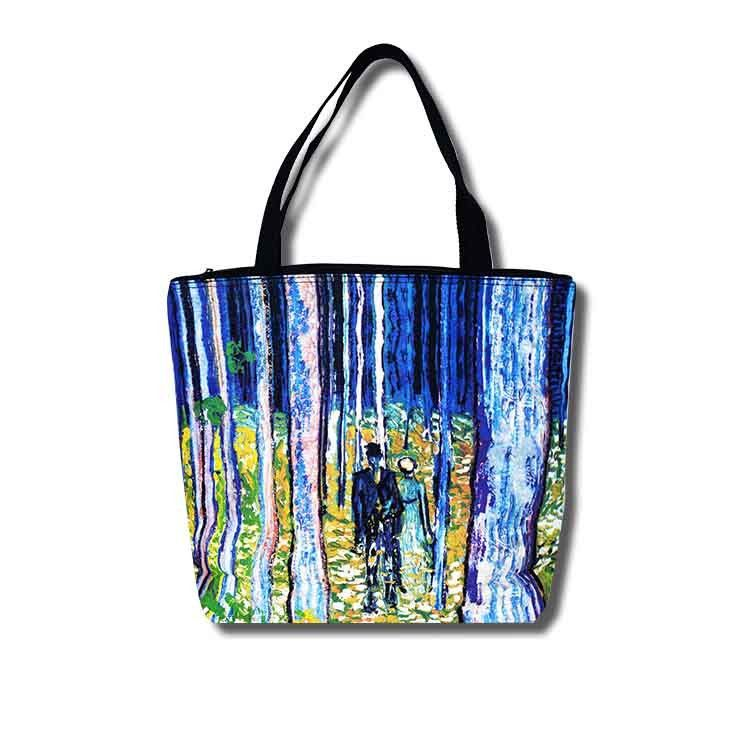 Undergrowth with Two Figures Tote Bag