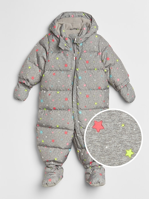 c60c632e9639 Gap Baby Coldcontrol Max Puffer Snowsuit Light Heather Grey ...