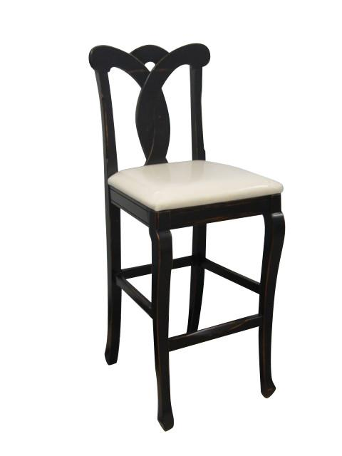The Trade Winds Tuscany Bar Stool Features An Upholstered Removable Seat A Simple