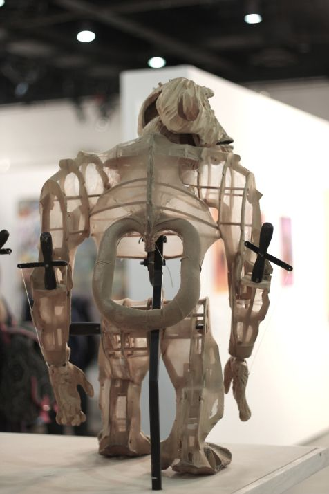 Puppet by Handspring Puppet Company at the FNB Joburg Art Fair.