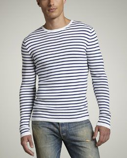 Vince Striped Sweater - is it hot in here?