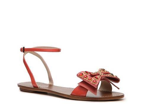 28294550a57dc6 Prada Jeweled Bow Sandal Flat Sandals Sandal Shop Women s Shoes - DSW