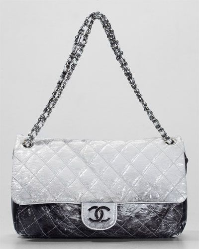 acb6d10836b0 Chanel Ombre Patent Leather Classic Flap Bag