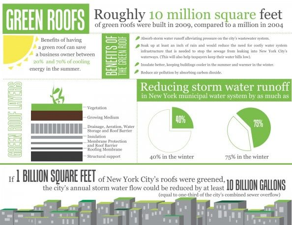 Green Roofs Infographic Green Roof Green Roof Garden Green