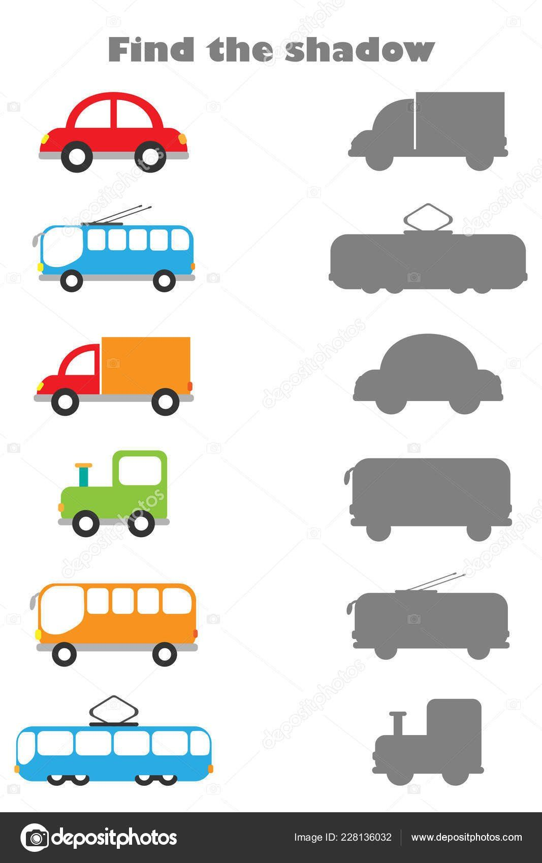 Transportation Worksheet For Preschool Transportation For