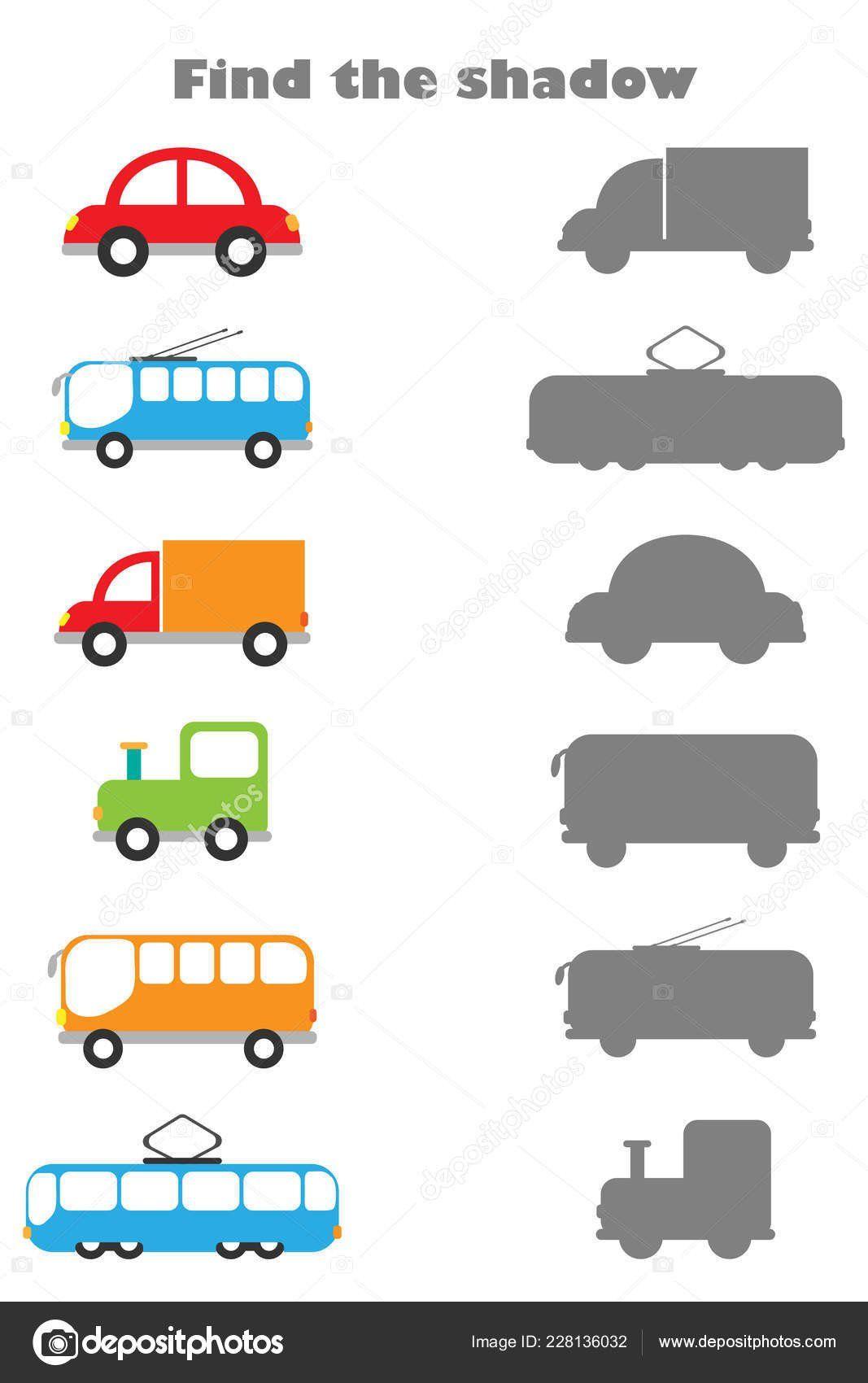 Transportation Worksheet For Preschool Transportation For