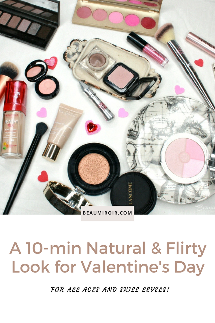 An easy and quick makeup look for Valentine's day for all ages!