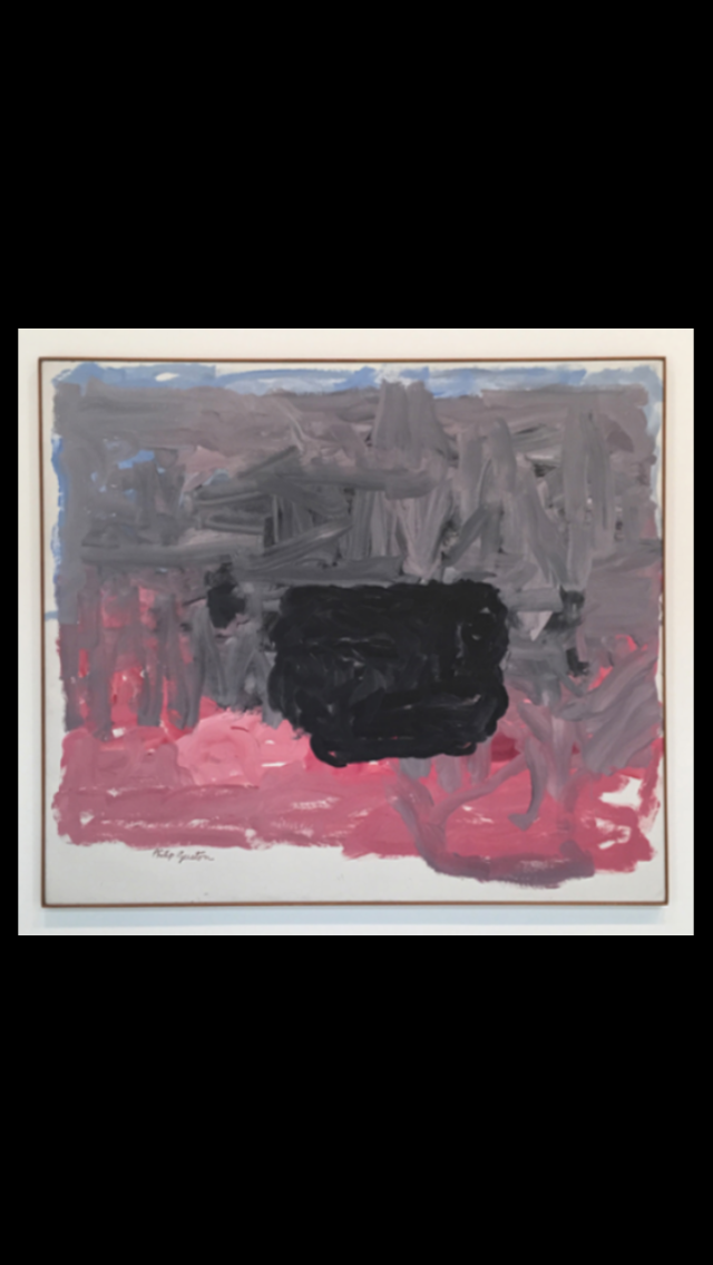 Philip Guston - May Sixty-Five, 1965 - Oil on canvas - 70 x 80 in.