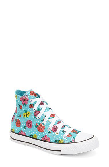 84b23751c480 Check out my latest find from Nordstrom   http   shop.nordstrom.com S 3881436 Converse Chuck Taylor® All Star® Floral  Polka Dot High Top Sneaker (Women) ...