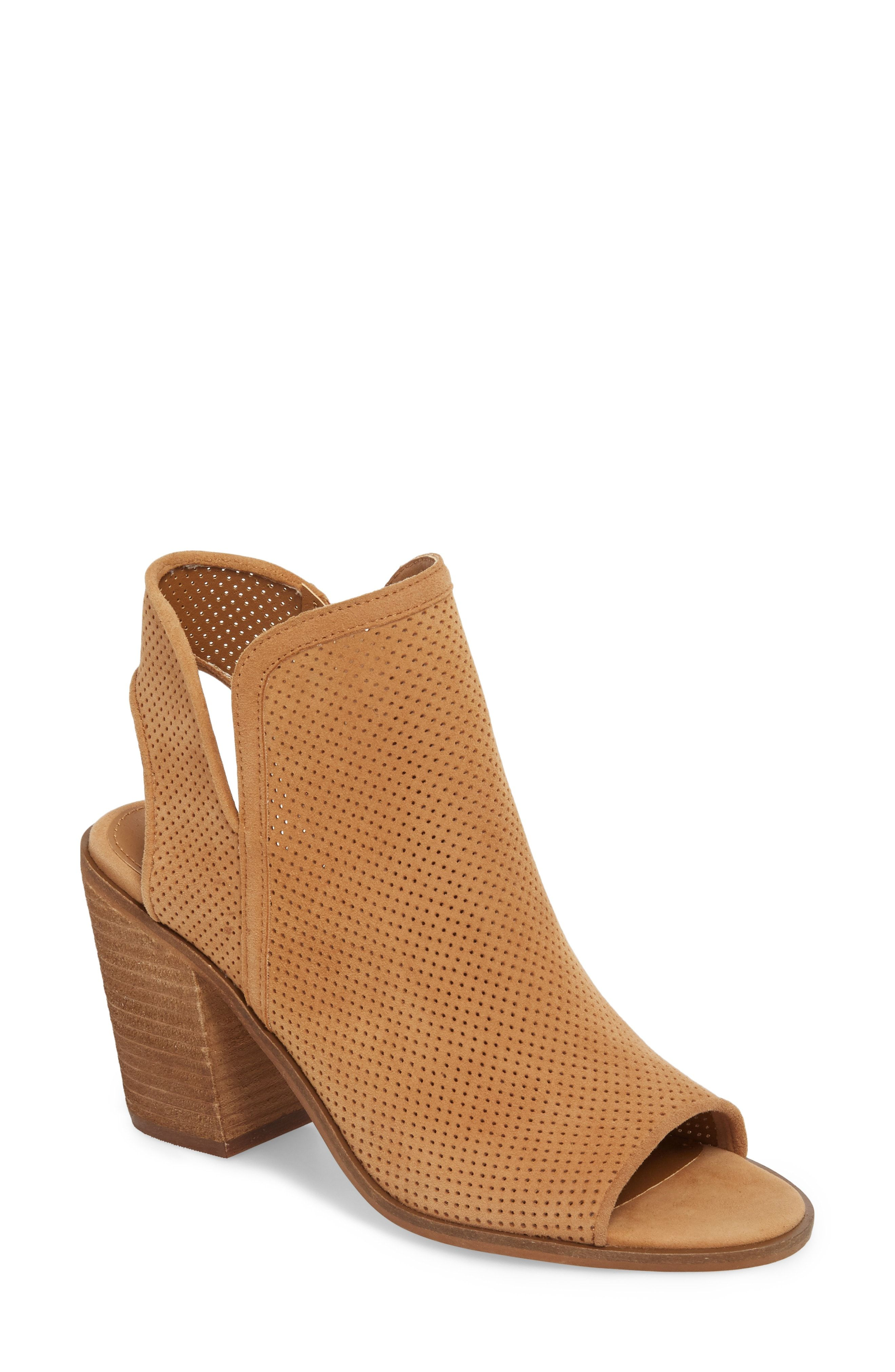 5b74afd6f47 Steve Madden Maxine Perforated Bootie (Women)