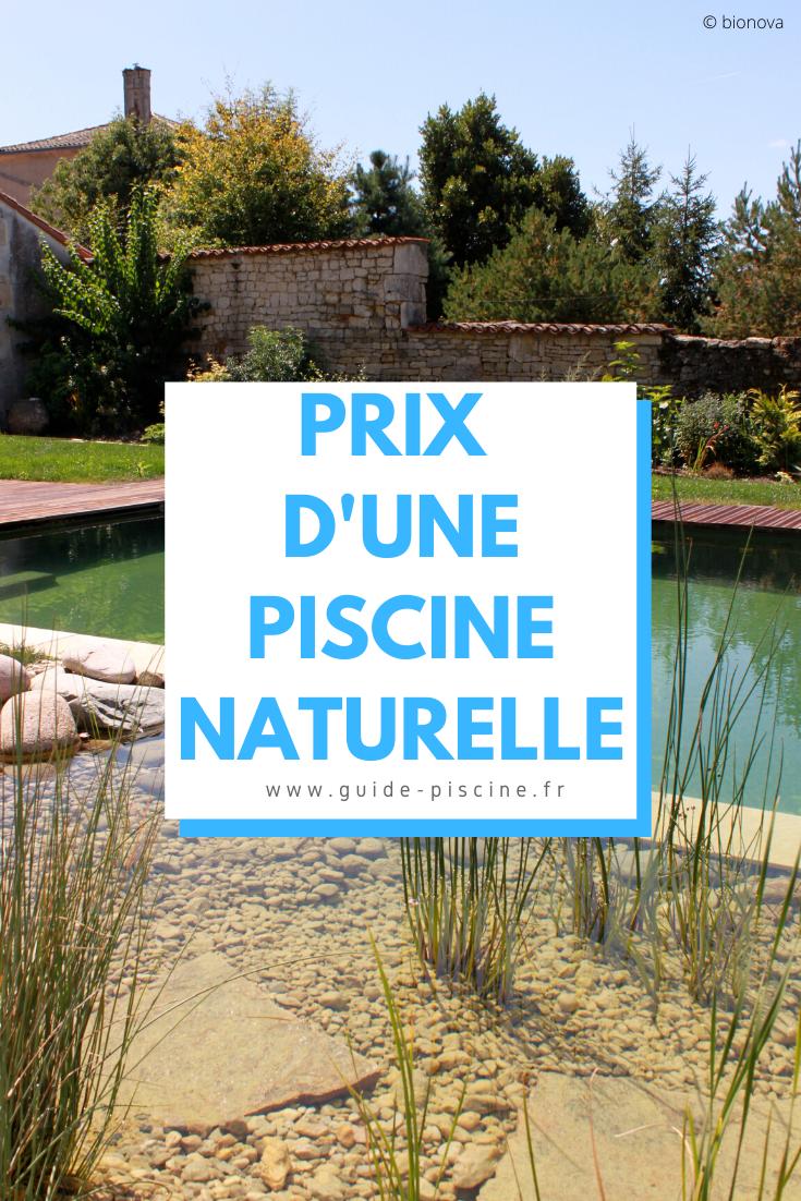 Prix Et Tarifs D Une Piscine Naturelle Biologique Guide Piscine Fr Piscine Naturelle Piscine Ecologique Piscine