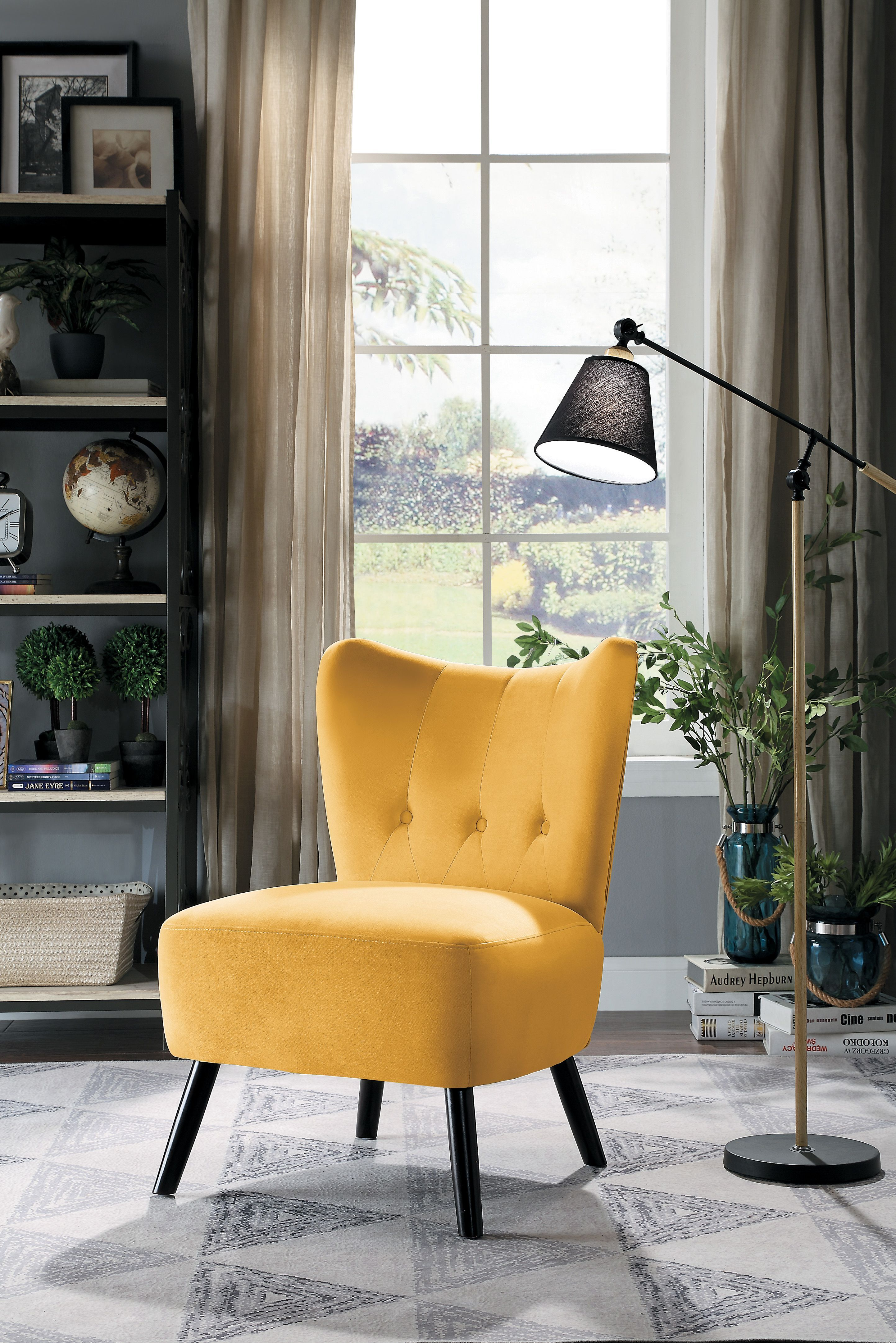 Quill Accent Chair Velvet Accent Chair Side Chairs Accent Chairs