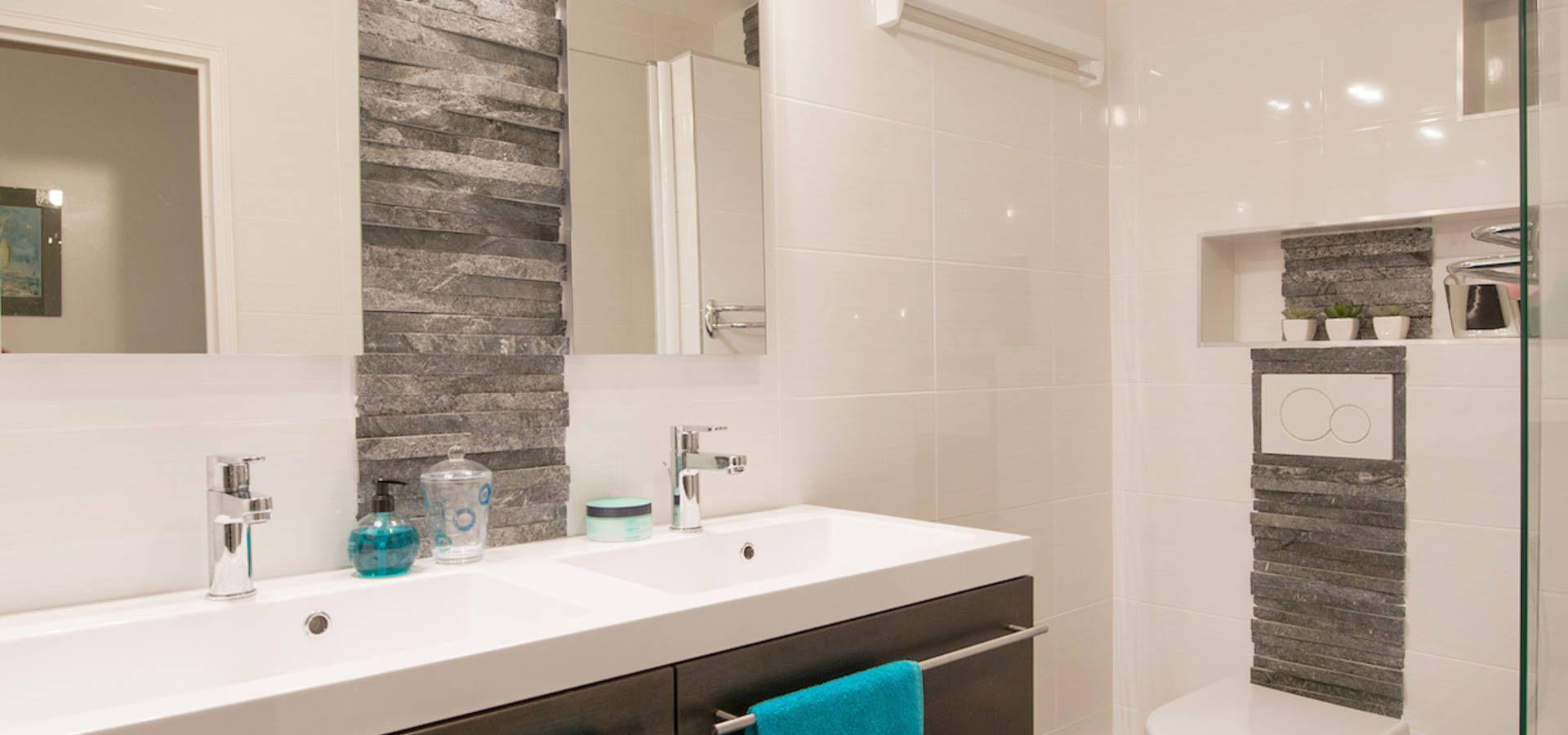 taille moyenne salle de bain les salles de bains taille moyenne mat riaux pinterest. Black Bedroom Furniture Sets. Home Design Ideas