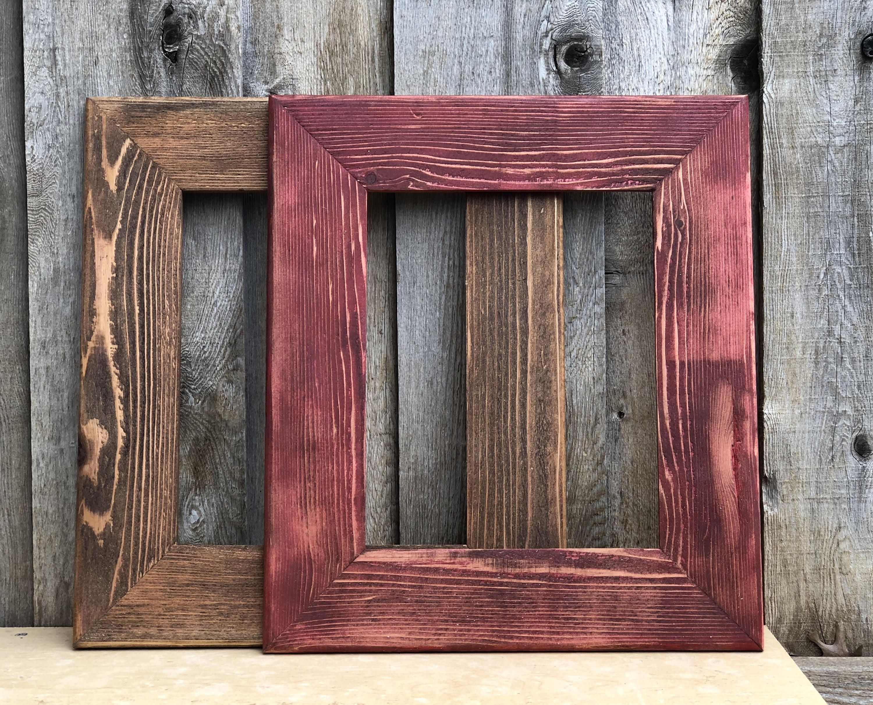 Rustic 8x10 Picture Frame Distressed Wood