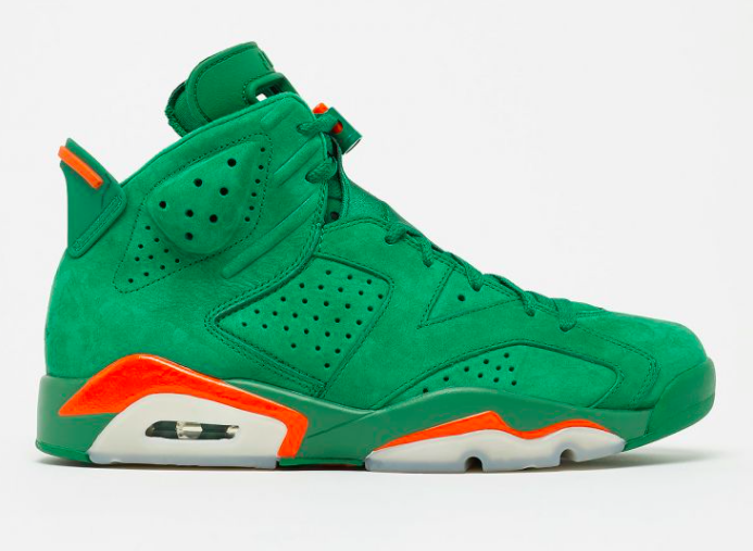 Air Jordan 6 Gatorade Green Debuting Next Weekend