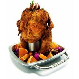 Stojak na kurczaka ze stali nierdzewnej Broil King