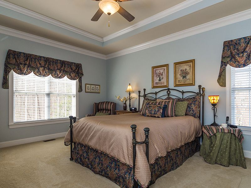 Great Master Bedroom With Double Tray Ceiling Bedroom Paint Colors Master Tray Ceiling Bedroom Master Bedroom
