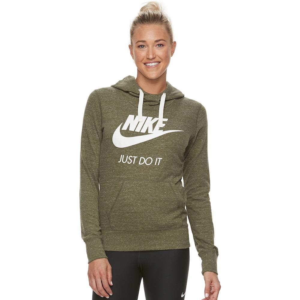 f2269d59258d Nike Women s Sportswear Gym Vintage Hoodie