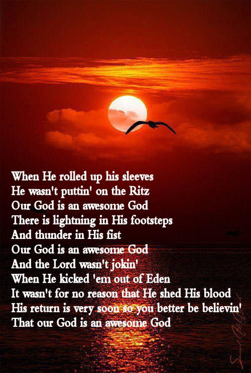 Awesome God By Rich Mullins One Of My Favorite Songs With