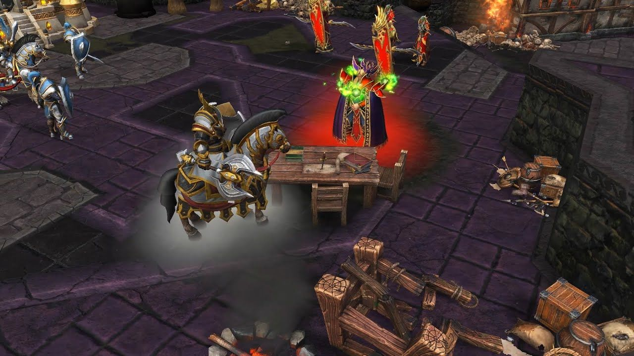 Warcraft 3 Reforged Find The Hidden Caches In Temple Alliance
