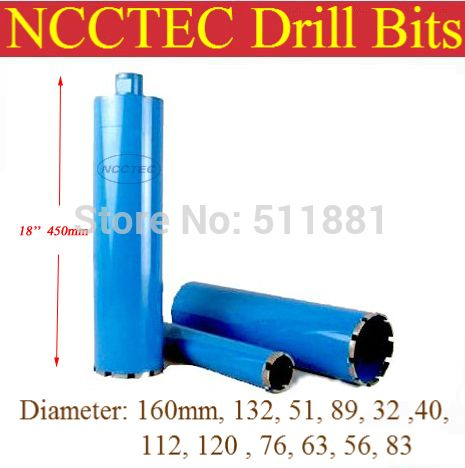 56mm 450mm Professional Crown Diamond Drilling Bits Free Shipping 2 2 Concrete Wall Wet Core Bits Engineering Core Concrete Wall Drill Cool Things To Buy