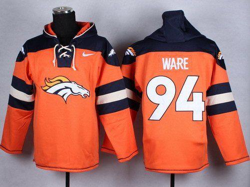 Denver Broncos Hockey Style Jersey Hoody  e2589642e