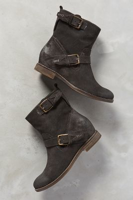 Dolce Vita Prestley Moto Boots Carbon Boots #anthrofave