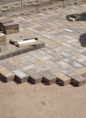 DIY Tips: The Best Way To Lay A Brick Paver Patio | Brick Paver Patio,  Brick Pavers And Fresco